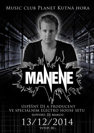 MANENE | MARCO | electro house show