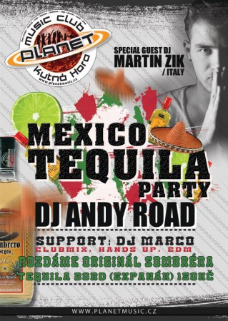 MEXICO TEQUILA NIGHT || ANDY ROAD |MARTIN ZIK(I) | MARCO | clubmix, hands up, edm