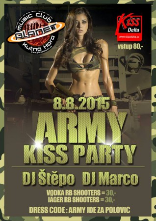ARMY KISS PARTY | ŠTĚPO | MARCOPO radiomix,edm