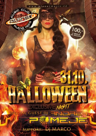 HALLOWEEN EXCLUSIVE NIGHT | ANDREA POMEJE | MARCO | edm,hands up, rnb, house,