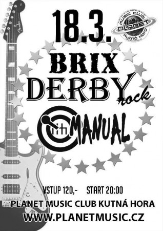 DERBY | BRIX | MANUAL //LIVE rock mejdan //