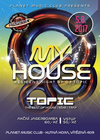 My House |Dj Topic|Marco| House ,EDM,