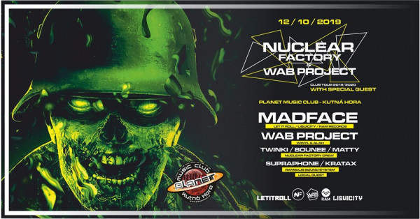 Nuclear Factory / Planet Music Club / Kutná Hora / 12.10.2019