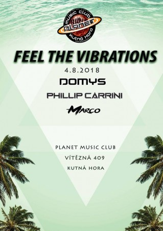 Feel The Vibrations - Domys x Phillip Carrini x Marco
