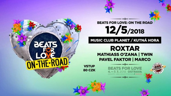 Beats for Love: On the Road w/ Roxtar ღ Planet