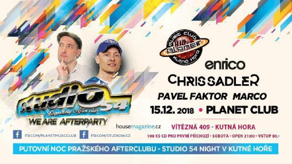 Studio 54 night|Chris Sadler|Enrico