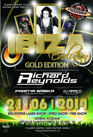 IBIZA EVOLUTION / GOLD EDITION with RICHARD REYNOLDS