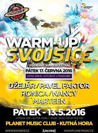 UNIVERSE Warm-up SVOJŠICE |DŽEJAR|RONICA|NANCY|MARTEEN|FAKTOR