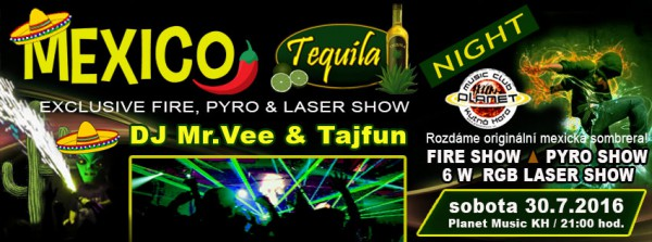 MEXICO TEQUILA NIGHT | Mr.VEE | TAJFUN| clubmix