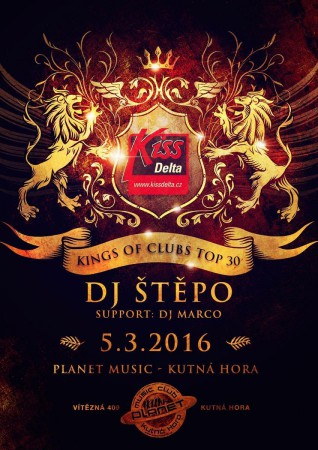 KINGS OF CLUBS TOP 30 LIVE | ŠTĚPO | MARCO | clubmix edm