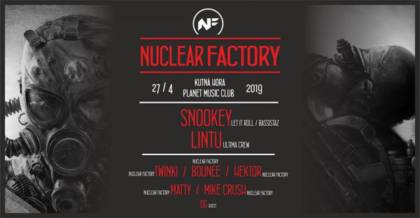 Nuclear Factory / Planet Music Club / Kutná Hora / 27.4.19