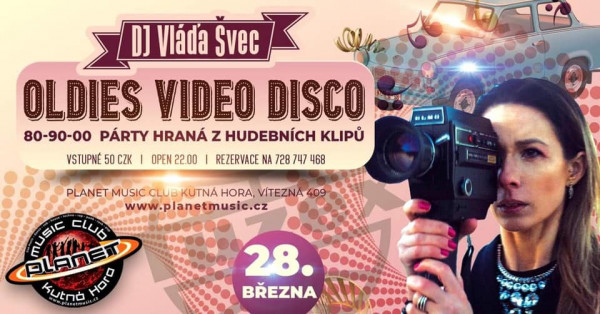 Oldies Video Disco vol.II Planet music club KH