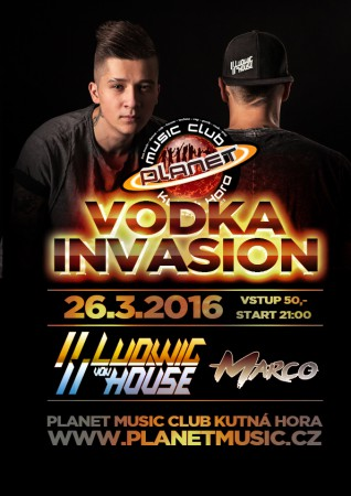 VODKA INVASION | LUDWIK von HOUSE | MARCO | clubmix, edm